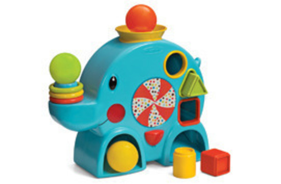 Ball Drop Toy : New infantino stack sort ball drop elephant baby