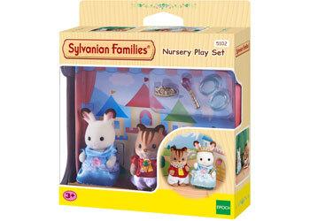 Sylvanian Families Miniature Toys Calico Critters Kids