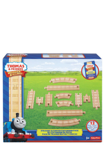 Thomas Amp Friends Wooden Straight Amp Curved Expansion Pack