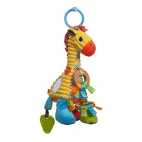 Infantino Go Gaga - Playtime Pal Giraffe Baby Activity Toy
