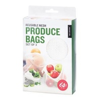 IS Gifts Mesh Produce Bags (Set of 3)