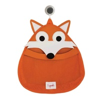 3 Sprouts Bath Storage - Orange Fox