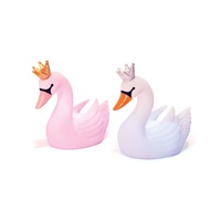 IS Gifts Illuminate Colour Changing LED SWAN Lamp Childrens Night Light-White