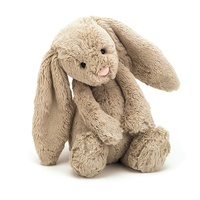 Jellycat Bashful Beige Bunny Medium 31cm Plush Super Soft Teddy