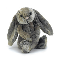 Jellycat Bashful Cottontail Bunny Medium 31cm Plush Super Soft Teddy