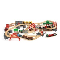 BRIO Set - Deluxe Railway Set, 87 pieces