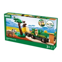 BRIO Set - Safari Railway Set, 17 pieces
