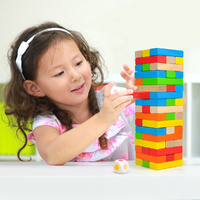 Top Bright - Colourful Jenga Game