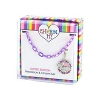 Charm It - I Love Dance Necklace Gift Set