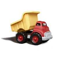 Green Toys Dump Truck Yellow & Red 100% Recycled BPA free