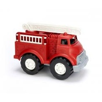 Green Toys Fire Truck with Ladder - Red 100% Recycled BPA free