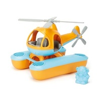 Green Toys Sea Copter Bath and Water Toy - Orange 100% Recycled BPA free