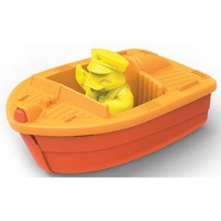 Green Toys Race Boat Bath & Water Toy - Orange 100% Recycled BPA free