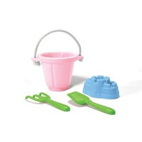 Green Toys Sand Play Set 4 piece - Pink 100% Recycled BPA free
