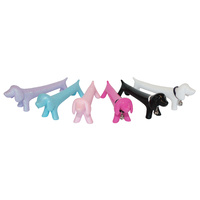 IS Gifts - Puppy Pens - assorted colours, pink, white or black colour selected at random