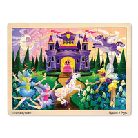 Melissa & Doug Fairy Fantasy Jigsaw 48pc