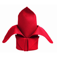 Wedding & Event Linen - Quality Polyester Napkins 42cm - Red