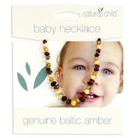 Natures Child - Amber Necklace - Mixed Colours