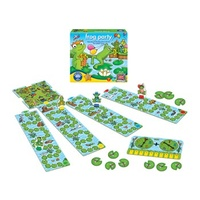 Orchard Toys Frog Party Fun Educational Game