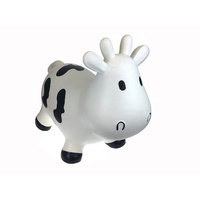 Bouncy Rider - White Cow