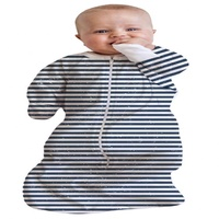 Baby Studio - All In One Swaddle Bag 0-3 Months Stripes