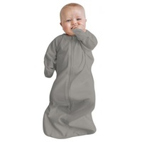 Baby Studio - Bamboo All in One Swaddle Bag 3-9 months 0.2 TOG - Warm Grey - Large