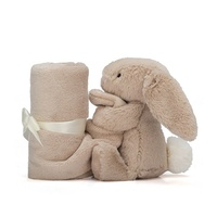 Jellycat Bashful Beige Bunny Plush Super Soft Soother