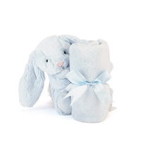 Jellycat Bashful Blue Bunny Plush Super Soft Soother