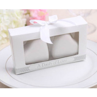 Wedding Bomboniere & Favours - Ceramic Salt & Pepper - Dash of Love