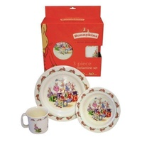 Bunnykins - 3 Piece Melamine Set - ABC
