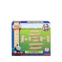 Thomas &  Friends - Wooden Straight & Curved Expansion Pack - 12 pieces
